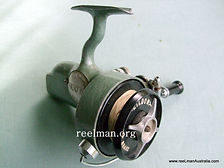 Eildon vintage spinning reel model 2. -C Late 1940s. The last model eildon produced. New folding handle (nickel plated steel) Extremely rare.