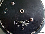 2- KINGSTON vintage Fly fishing reel. Ma