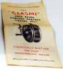 CLASMI Fly fishing reel specification booklet