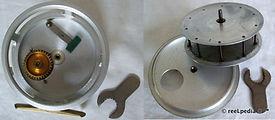 3- Crouch C8 vintage fishing reel intern
