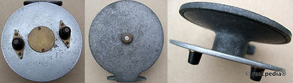 3-Vintage Nottingham ball bearing fishing reel