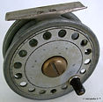 1- DAWSON vintage Fly reel 4 way cross c