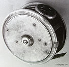 3- The J M G vintage Fly reel made in Me
