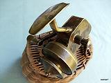 Vintage Brass Spinning reel made Bendigo ordnance factory Australia