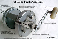 1- Bourke Big Game vintage fishing reel