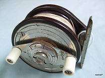 STEELITE metal faced drag plate vintage fishing reel made in Australia, Extremely Rare!