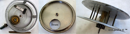 4- Crouch c5 brass back vintage fishing