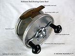 MAKOORA 5'' vintage Game fishing reel sp