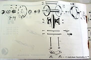 08- SEASCAPE Hand Book fishing reel Schematics page