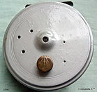 1- DAWSON FLY REEL 4'' Silver paint fini