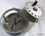 4-EUREKA vintage Fly reel internal mecha