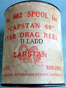 CAPSTAN 69 Vintage Fishing reel spare spool-Drum container Very hard to find.
