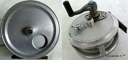 1- Crouch c10 vintage fishing reel. Made