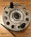 1-Vintage Nottingham Workshop reel made in Australia