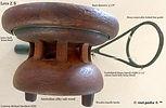 1- Lees model Z B side cast reel specifi