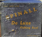 1-Spinall  De Luxe vintage fishing reel