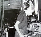 3 - Don Charlton at his engineering Factory