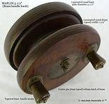 MARLIN 3 1_2'' vintage fishing reel bras