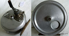 2- Crouch c10 vintage fishing reel. Made