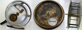 3- Crouch C4 Bronze back vintage fishing