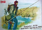 ALVEY advertising poster circa 1950.