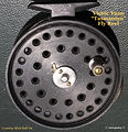1-  _Tasmanian_ vintage fly reel made by