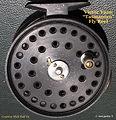 1-  _Tasmanian_ vintage fly reel made by