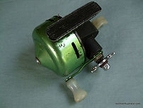 Auto-Flite spinning reel GREEN anodized modle -c 1958
