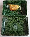 ACADEMY vintage Bakelite Tackle box made in Australia. Rare