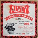 3 - Alvey vintage Bakelite Tackle Box