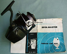 Rare Spin-Master Mk.2 spinning reel with original Box.