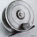 1- BONZA vintage Fly fishing reel made i