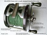 SEA KING vintage game fishing reel speci