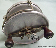 Alvey Metal Game Fishing Reel.Extremely rare.