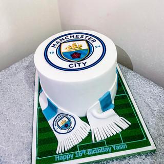 Man City Cake.