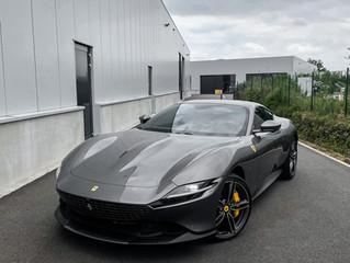 Ferrari Roma XPEL Ultimate Plus PPF wrap