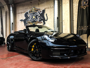 Porsche 992 protected with Xpel