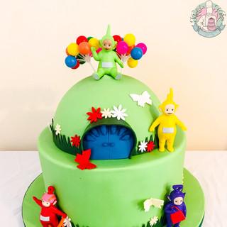 Teletubbies Cake.