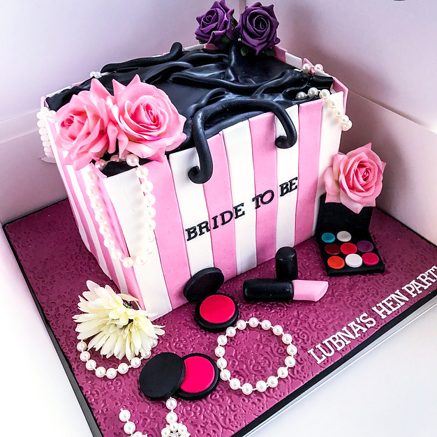 Bride To Be Cake.