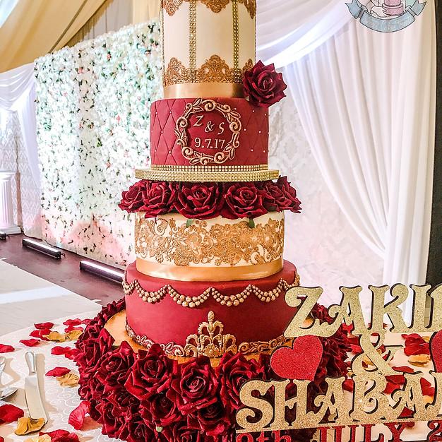 Birdcage Wedding Cake.