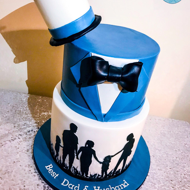 Top Hat Cake.