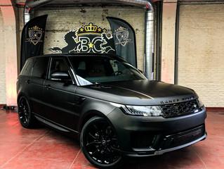 LR Range Rover Sport Matte black metallic