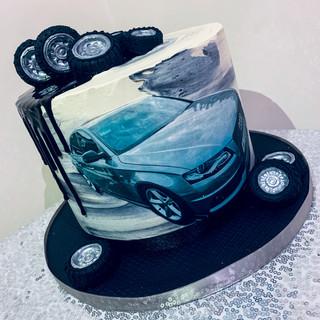 Car Themed Cake.