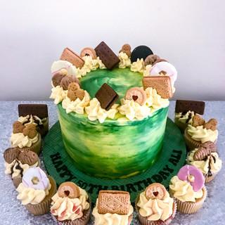 Biscuit Buttercream Cake.