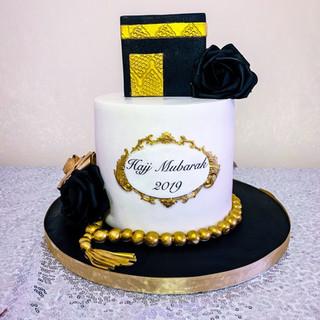 Hajj Mubarak Cake.