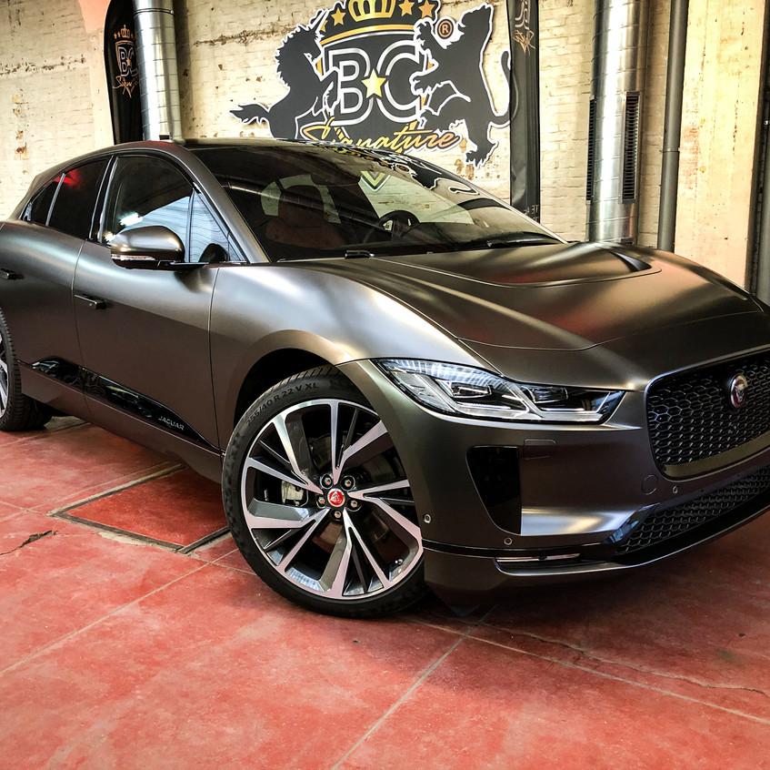 Jaguar I-Pace Carwrap Satin Dark B