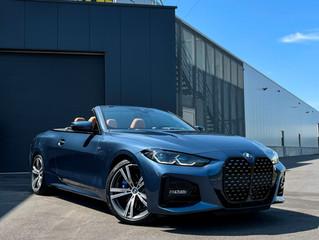 Nieuwe BMW 4 SERIES CABRIO voorzien van XPEL Paint Protection film