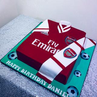 Arsnal Cake.