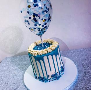 Chocolate Drip Gift Cake.