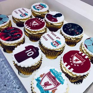 Liverpool Cupcakes.